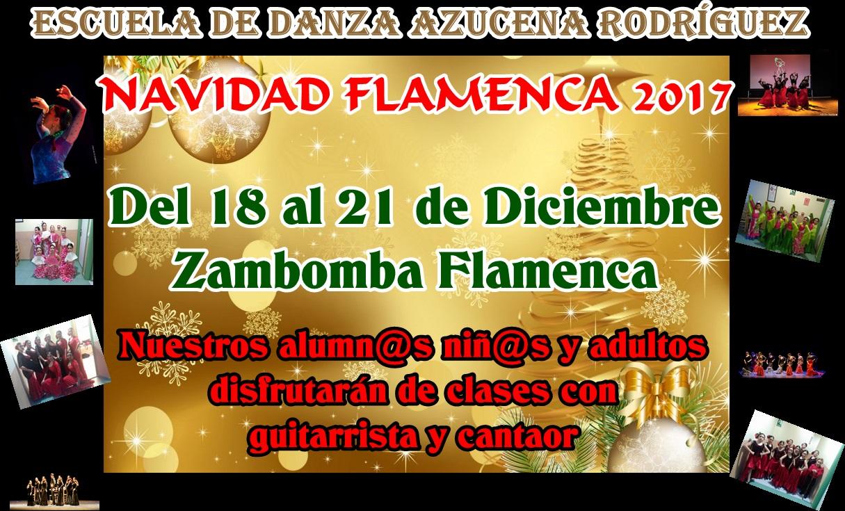 Cartel zambomba flamenca